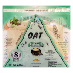Mountain Bread - Oat Wraps (8 pieces, 200g)