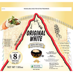 Mountain Bread - White Wraps (8 pieces, 200g)