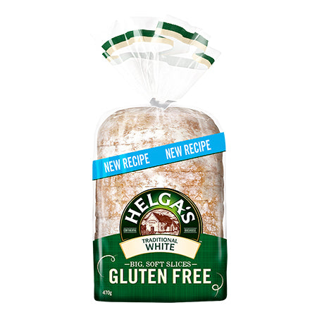 Helgas - Bread Gluten Free - Traditional White (470g)