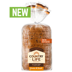 Country Life - Bread Gluten Free - Grains & Seeds (400g)