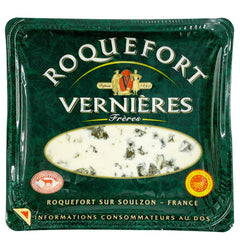 Vernieres Roquefort AOP Blue Cheese | Harris Farm Online