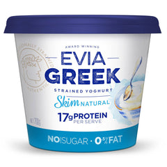 Evia - Yoghurt Greek Strained -Skim Natural (700g)