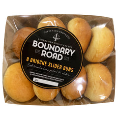 Boundary Road - Bread Brioche - Slider Buns (8pk)