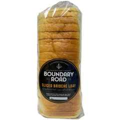 Boundary Road - Bread Sliced Brioche Loaf (500g)