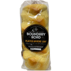 Boundary Road - Bread Plaited Brioche Loaf (500g)