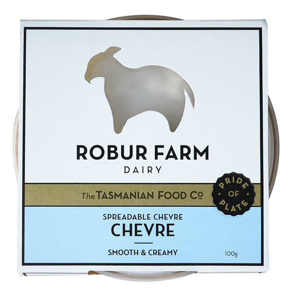 Robur Farm Dairy Spreadable Chevre | Harris Farm Online