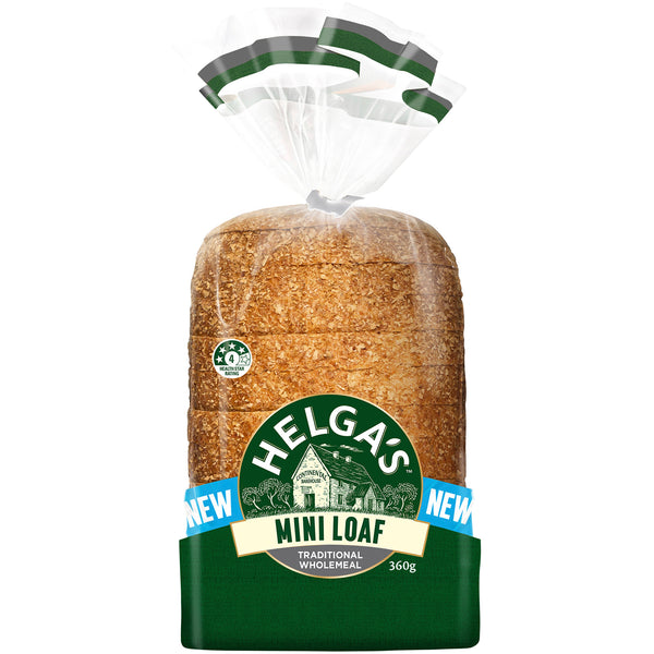 Helga's Traditional Wholemeal Mini Loaf | Harris Farm Online