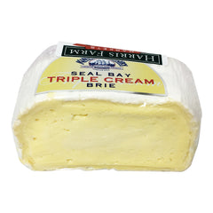 King Island Seal Bay Triple Cream Brie Whole Log 900g-1.1kg