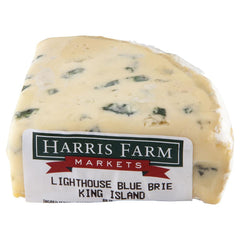 Blue Cheese King Island Lighthouse Blue Brie 140-200g , Frdg1-Cheese - HFM, Harris Farm Markets  - 1