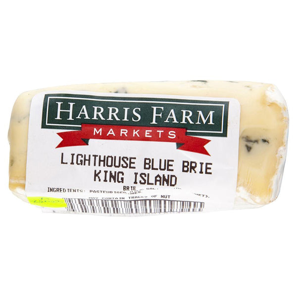 Blue Cheese King Island Lighthouse Blue Brie 140-200g , Frdg1-Cheese - HFM, Harris Farm Markets  - 2