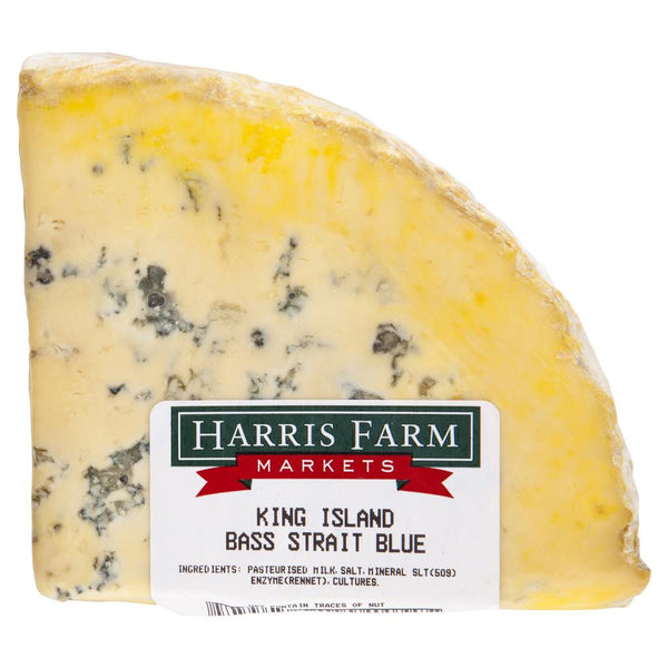 Blue Cheese Bass Strait Blue 110-160g , Frdg1-Cheese - HFM, Harris Farm Markets  - 2