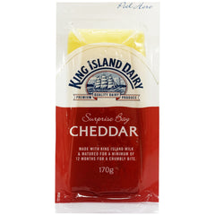 King Island Dairy Surprise Bay Vintage Cheddar | Harris Farm Online