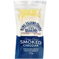 King Island Dairy Stokes Point Smoked Cheddar Cheese | Harris Farm Online