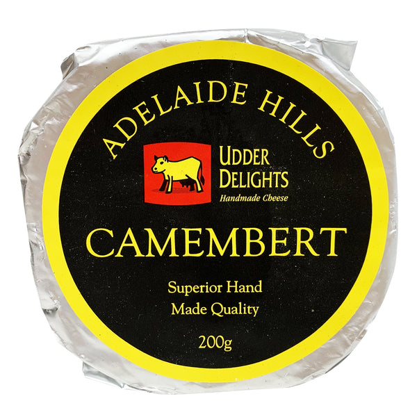 Camembert - Cheese Wheel  - Udder Delights | Harris Farm Online