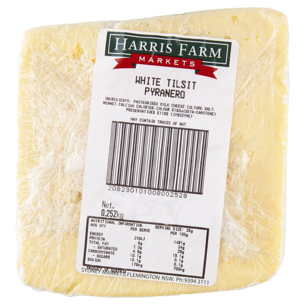 White Tilsit Pyranero 120-200g , Frdg1-Cheese - HFM, Harris Farm Markets  - 2