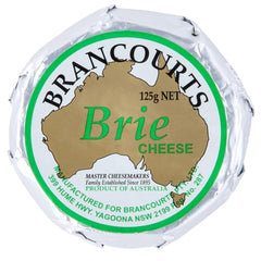 Brie Brancourts 125g , Frdg1-Cheese - HFM, Harris Farm Markets  - 1