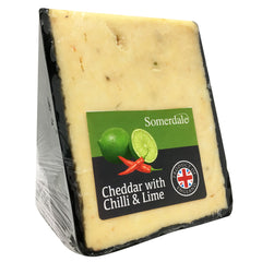 Cheddar - Chilli & Lime (150-250g) Somerdale
