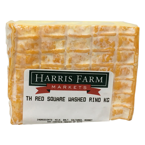 Washed Rind - Tasmanian Heritage - Red Square Cheese (140-200g)