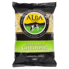 Alba Cheese - Cheddar Shredded | Harris Farm Online