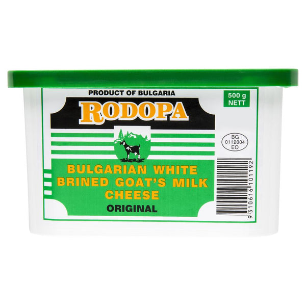 Goat Cheese Rodopa Bulgarian White 500g , Frdg1-Cheese - HFM, Harris Farm Markets  - 1