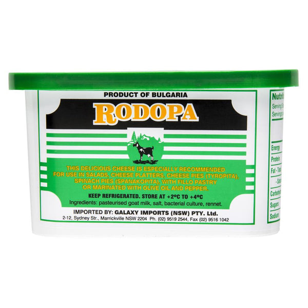 Goat Cheese Rodopa Bulgarian White 500g , Frdg1-Cheese - HFM, Harris Farm Markets  - 2