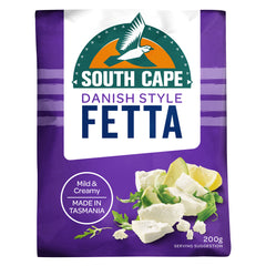 South Cape Danish Style Fetta Cheese 200g