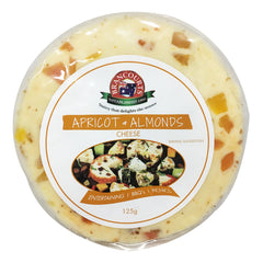 Flavoured Cream Cheese - Apricot & Almond (125g) Brancourts
