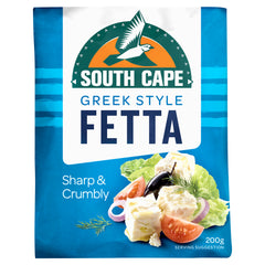 South Cape Greek Style Fetta Cheese 200g