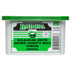Sheeps Cheese Rodopa Bulgarian White Brined 500g , Frdg1-Cheese - HFM, Harris Farm Markets  - 1