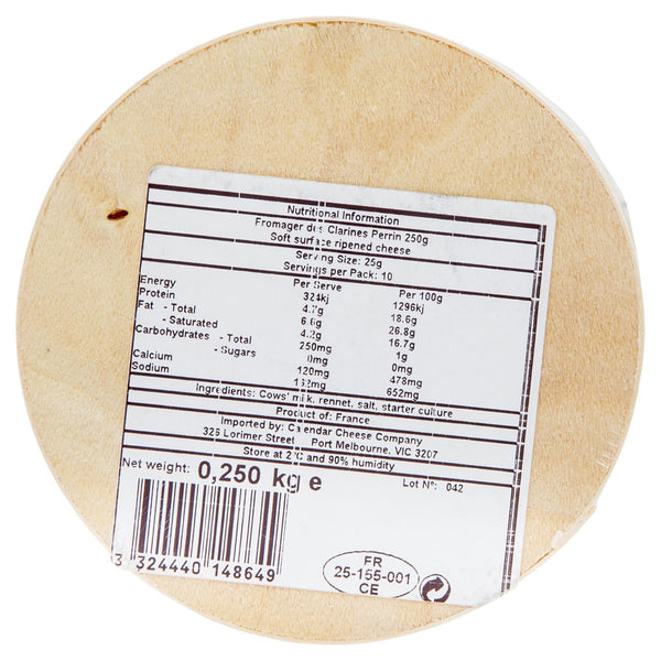 Brie Jean Perrin Fromager Des Clarines 250g , Frdg1-Cheese - HFM, Harris Farm Markets  - 2