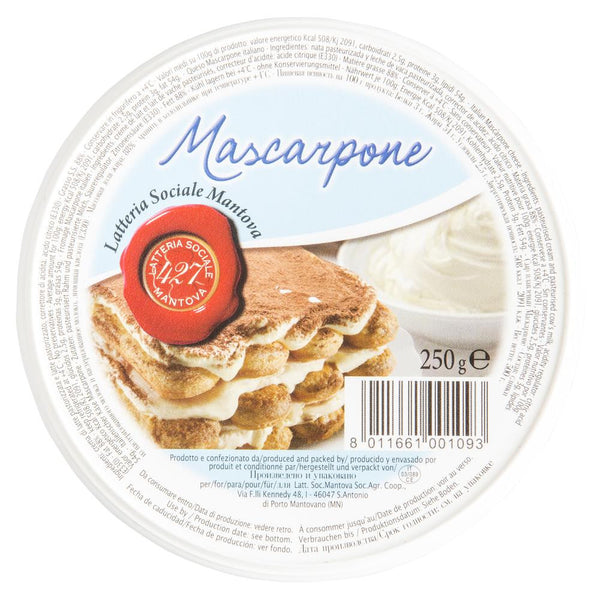 Mascarpone Cheese Latteria Sociale Mantova Italian 250g , Frdg1-Cheese - HFM, Harris Farm Markets  - 1