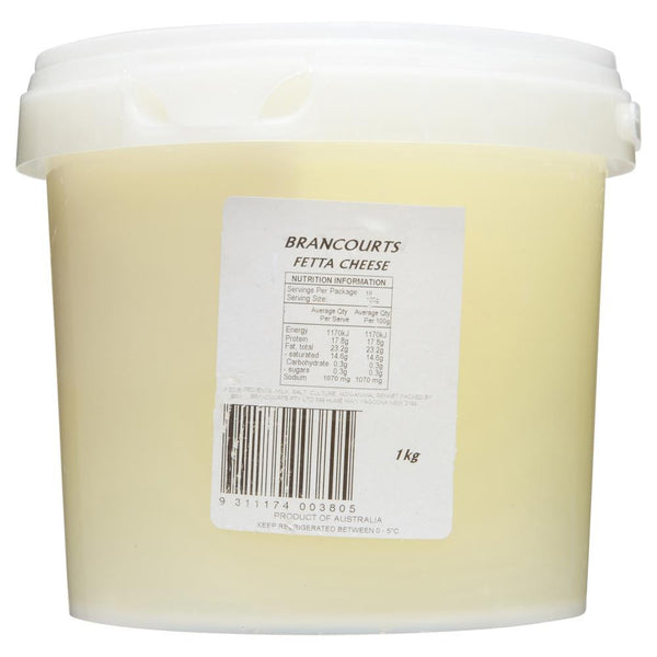 Feta Brancourts 1kg , Frdg1-Cheese - HFM, Harris Farm Markets  - 2