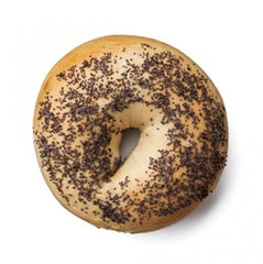 Glicks - Bread Bagel - Poppy Seed (each)