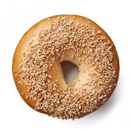 The Bagel Co - Bread Bagel - Sesame Seed (each)