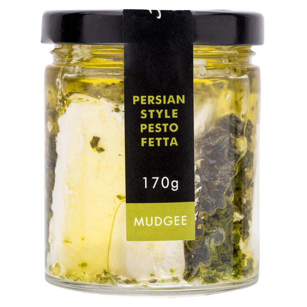 High Valley Persian Style Pesto Fetta 170g , Frdg1-Cheese - HFM, Harris Farm Markets  - 2