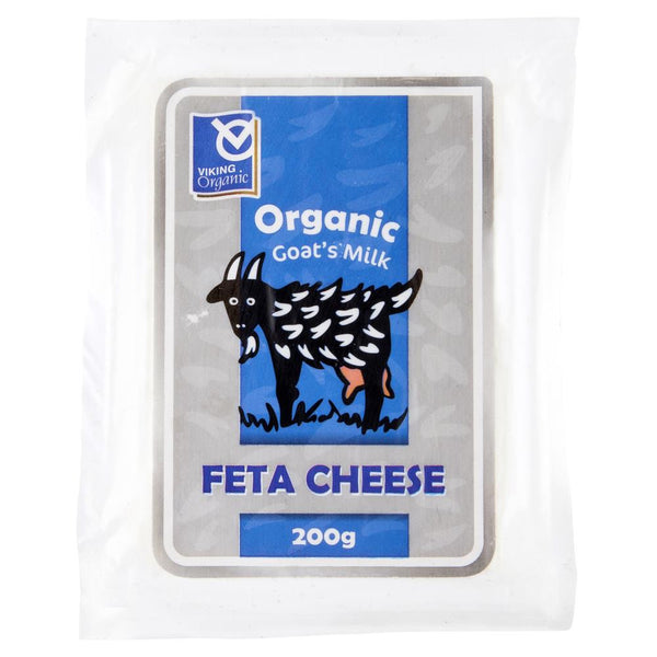 Feta Goat Cheese Viking Imports Organic 200g , Frdg1-Cheese - HFM, Harris Farm Markets  - 1