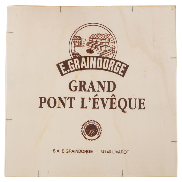 Washed Rind French Pont L'Eveque 220-280g , Frdg1-Cheese - HFM, Harris Farm Markets  - 2