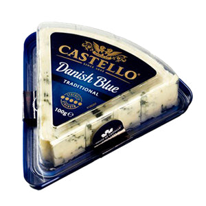 Blue Cheese - Danish Blue Traditional (100g) Castello