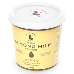 Wise Bunny Roasted Almond Milk Mango Yoghurt 600g