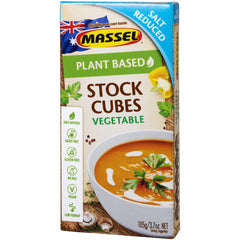 Massel - Stock Cubes - Vegetable - Salt Reduced (105g)