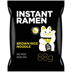 Spiral Foods - Instant Ramen - Brown Rice - with Shoyu Base Soup Stock (88g)
