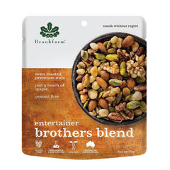 Brookfarm - Nuts Snack - Entertainers Brothers Blend | Harris Farm Online