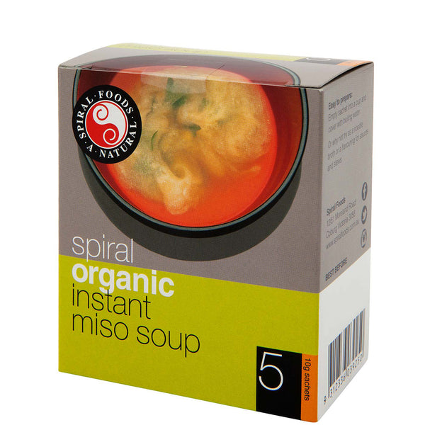 Spiral Foods Organic Instant Miso Soup | Harris Farm Online