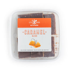 Little Green Kitchen Caramel Slice | Harris Farm Online