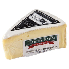Brie Woombye Triple Cream 110-160g , Frdg1-Cheese - HFM, Harris Farm Markets  - 1