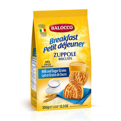 Balocco - Biscuits Zuppole - Milk and Sugar Grains (350g)