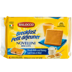 Balocco Novellini Biscuits Fresh Milk and Honey | Harris Farm Online