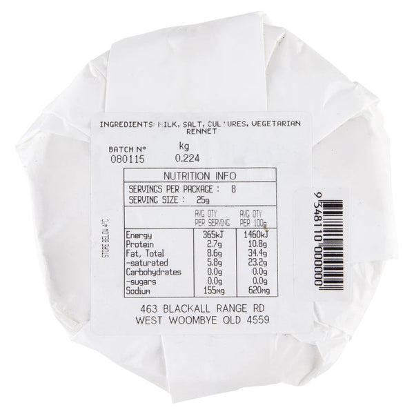 Camembert Woombye 200g , Frdg1-Cheese - HFM, Harris Farm Markets  - 2