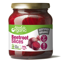 Absolute Organic Beetroot Slices 340g