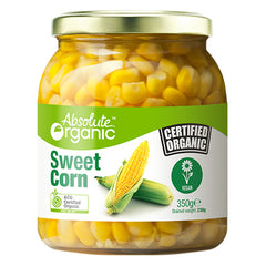 Absolute Organic - Sweet Corn (350g)